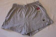 NEW Womens Jersey Shorts Size Medium Junior Fit Gray Ladies Cotton Bottoms Grey