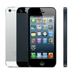 Unlocked Apple iPhone 5 Used Mint Condition 16GB Full Set Christmas Gift