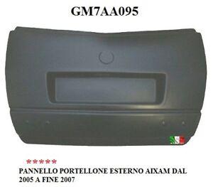 PANNELLO PORTELLONE ESTERNO AIXAM DAL 2005 A FINE 2007 TUTTE GM7AA095