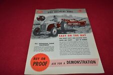 Ford Tractor Dearborn Side Delivery Rake Dealer's Brochure YABE15