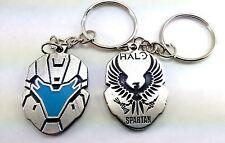 Halo Gamer Keychain Keyring Pendant doble sided HQ FREE SHIPPING!