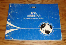 1996 Ford Windstar Wiring Diagram EVTM Manual 96