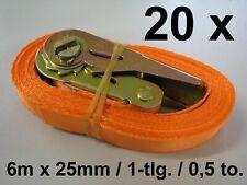 Feldtmann Ratschen-zurrgurt 1-teilig 84502 Spanngurt 25mm X 6m Gurt