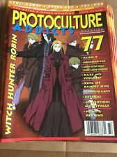 #77 Protoculture Addicts Vintage Anime Magazine UNREAD Witch Hunter Robin