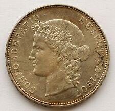 Switzerland 5 Francs 1907