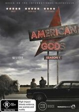 AMERICAN GODS SEASON 1 DVD Brand New & Sealed!