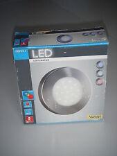 NEU Aluminium- Wandlampe  * MASSIVE *  LED'S Motion  Farbschablonen  3 Watt  OVP