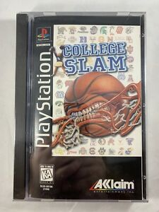 College Slam PlayStation 1 PSX PS1 brand new sealed Rare!