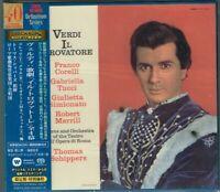 Verdi Il Trovatore Corelli Simionato Schippers Japan 2 SACD w/OBI NEW/SEALED