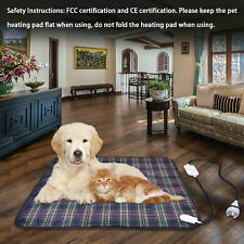 Pet Electric Heating Winter Warm Blanket Pad Waterproof Dog Cat Large Heater Mat