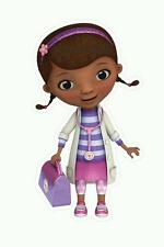 Disney Doc McStuffins Wall Decals High Definition Sticker Poster Kids Decor