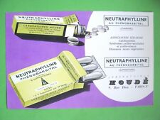 ANCIEN BUVARD PUBLICITAIRE Neutraphylline / PRODUIT PHARMACEUTIQUE