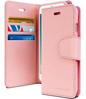 iPhone 7 Genuine MERCURY Goospery Sonata Pink Flip Case Wallet Cover FREE Post
