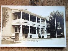 RPPC Hotel Central Montebello Quebec 1920s Que
