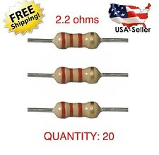 20 PCS QUALITY AIRBAG BYPASS SRS 2.2 OHM Resistor TESTED ACCURATE USA SELLER