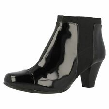 Clarks Wet look, Shiny Boots for Women