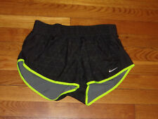NIKE DRI-FIT ATHLETIC RUNNING SHORTS WITH LINER WOMENS SMALL EXCELLENT