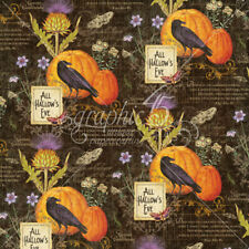 Graphic45 2 sheets, Time to Flourish Collection, flourish, OCTOBER