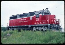 Original Rail Slide - MNA Missouri & Northern Arkansas 6527  Carthage MO 5-20-95