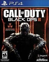 Sealed Call of Duty: Black Ops III PS4 SONY PlayStation 4 2015