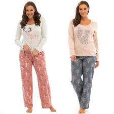 Full Length Cotton Blend Women's Floral Pyjama Sets