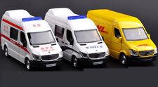 1:36 RMZ Benz Ambulance Car/Police Car/DHL Transport Car Toy Die Cast Model