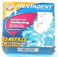 Arm & Hammer Mentadent Advanced Whitening 2 Refills 5.25 oz (148.8g) Ea