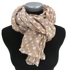 Écharpes et châles foulards en polyester à motif À Pois pour femme