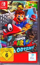 Super Mario Odyssey Nintendo Switch Spiel NEU (Jump´n´Run)