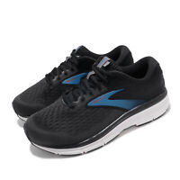 Brooks Dyad 11 Extra Wide Black Blue White Men Running Shoes Sneakers 110323 4E