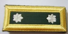 ARMY SHOULDER BOARDS STRAPS SPECIAL FORCES LIEUTENANT COLONEL PAIR MALE NIP #1