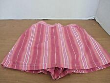 GYMBOREE~Pink Striped SKIRT SKORT~Shorts Underneath~Girls Size 5 Years
