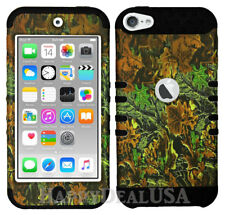 For Apple iPod Touch iTouch 5 | 6 - KoolKase Hybrid Cover Case - Camo Mossy 02
