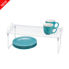 Wire Shelf And Rail Unit Kitchen Dish Rack Vintage Storage Industrial Organiser
