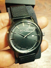 So & Co New York Madison Men's Quartz Watch with Black Dial Analogue Display new