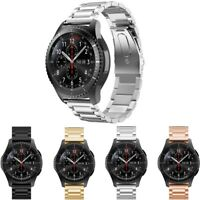 StrapsCo Polished Stainless Steel Replacement Watch Band Strap