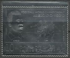 Fujeira Sport Coupe Football Fifa Word Cup Soccer Fußball Roi Pele **1970 Argent