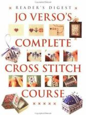 Jo Verso's Complete Cross Stitch Course-ExLibrary