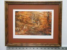 Robert Abbett WOODCOCK HUNTER framed 11X14  4.0wfc630