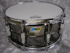 USA LUDWIG 6 1/2 X 14 BLACK BEAUTY SNARE WITH SNARE