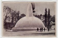 1930 EXHIBITION, ANTWERP: Belgium transparency hold to light postcard (C27001)