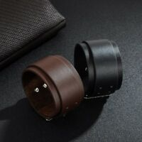 Men Double Layer Wide-brimmed Leather Bracelet Fashion Jewelry For Gifts