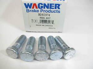 (5) Wagner BD60974 Wheel Lug Studs - Rear