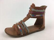 fea16bc3340 Nina Cayenne Tan Burnished Gladiator Sandals