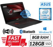 ASUS ROG GL552VW 15.6' Core i5 6TH 8GB RAM 128GB SSD 1TB HDD Win10 Gaming Laptop