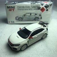 1/64 TSM MINI GT Honda Civic Type R (FK8) Championship White Modulo RHD