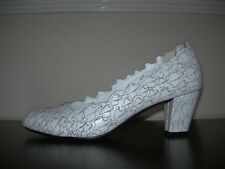 UNITED NUDE WOMEN'S COURT SHOES OFF WHITE LEATHER EU 37- 37.5 / UK 4- 4.5 *RARE*