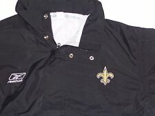 Coach and Staff Game Issued Waterproof Rain Jacket Pant Suit - N.O. Saints