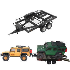 1:10 RC Heavy Duty Metall Anhänger Modell DIY für 1/10 RC Rock Crawler Car