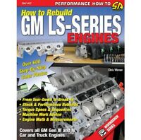 How to Rebuild GM LS-Series Engines 7.0 6.2 6.0 5.7 5.3 4.8 Manual Book SA147